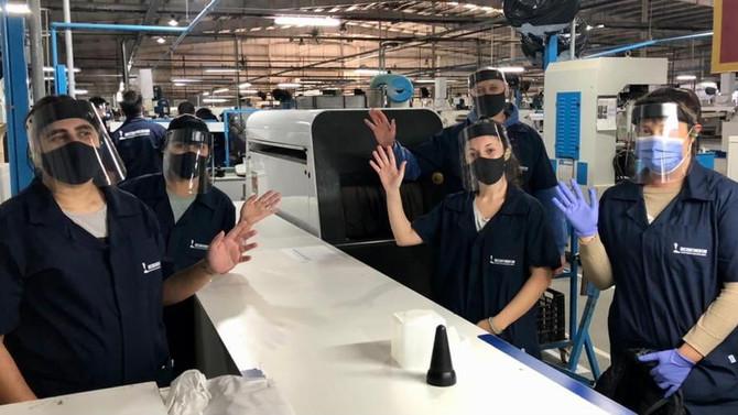 La empresa Bicontinentar ya comenzó a trabajar con su primera línea de producción