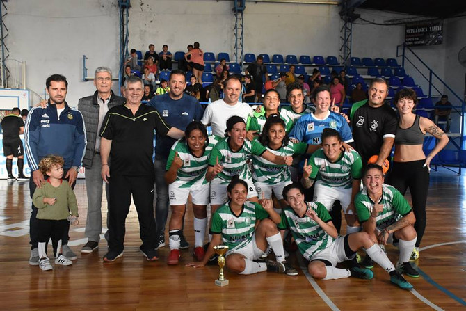 Etapa final, en Chivilcoy, de un Torneo Provincial de Futsal femenino