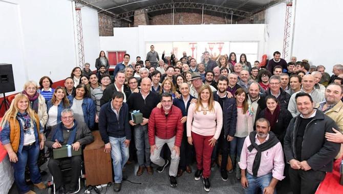 """Salvador encabezó encuentro de la UCR en General Arenales y pidió """"consolidar el radicalismo y"""