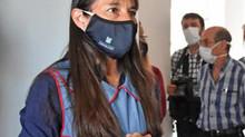 """Alejandra Montenegro: """"Contamos con el espacio en los salones para las burbujas que armamos"""""""