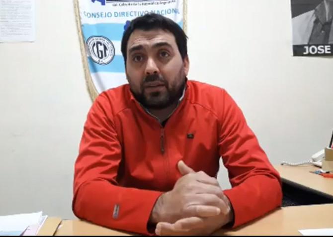 """Juan Marcelo López """"La realidad aunque suene muy dura, y angustie no solamente a los trabajadores de"""