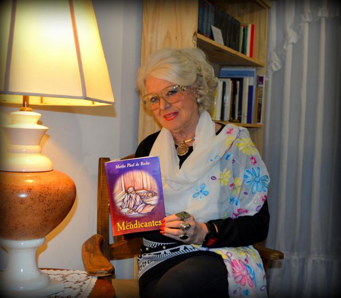 """DelOeste Art.: Presentación del libro """"Los Mendicantes"""" de la escritora Martha Plaul Rocha"""