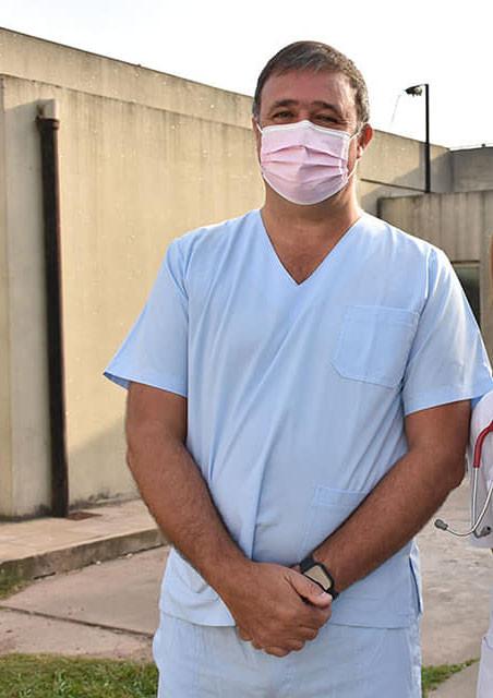 """Gustavo Iralde: """"Está descripta la afectación cardíaca por el Covid, pero no es lo más usual"""""""