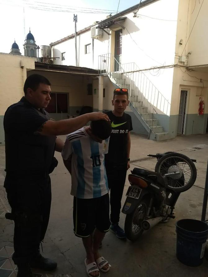 Detienen a un ciudadano imputado del delito de Robo que intentaba abandonar la ciudad