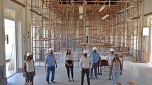 Avanza la obra en la Escuela Normal, se destinaron cerca de $6 millones del Fondo Educativo