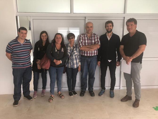 Subsidio institucional El Hospital de Moquehuá firmó un convenio para la compra de equipamiento