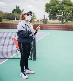 """Susana Dupuy: """"Decidí hacer un interno para realizar un ranking entre los y las tenistas del club"""""""