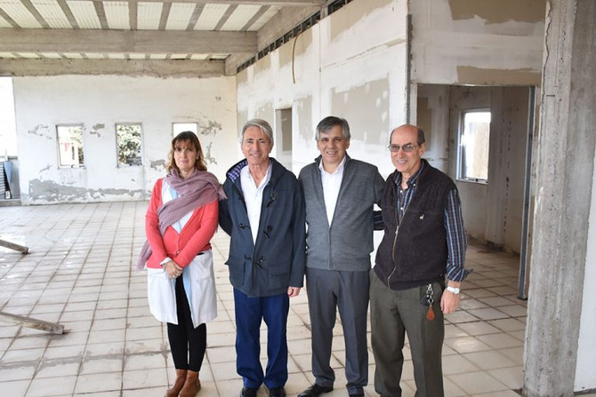 Hospital Municipal  Avanzan en la obra de finalización de los consultorios externos con la reparació