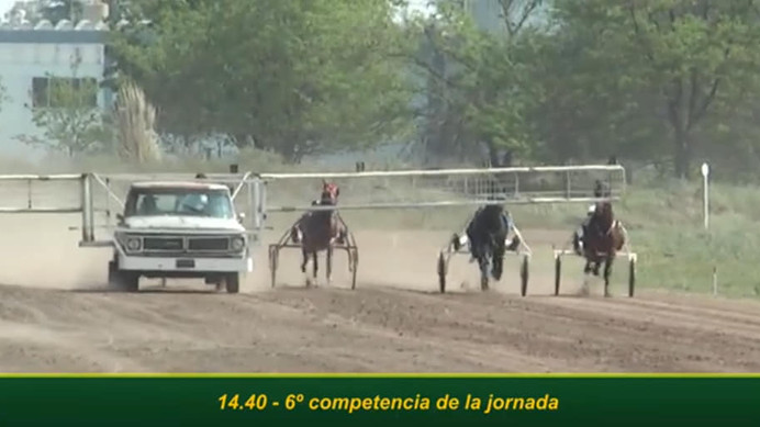 Trote: Tras siete meses de inactividad, el hipódromo chivilcoyano retomó su actividad