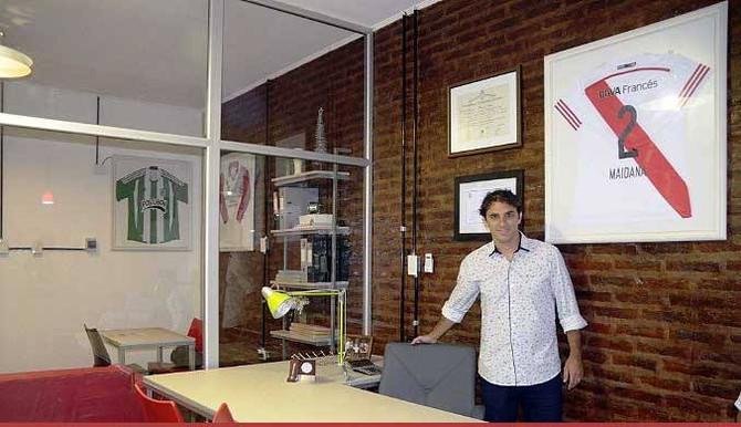 """Julián Fortunato """"La gente se está volcando mucho a la construcción y eso está ayudando a sobrepasar"""