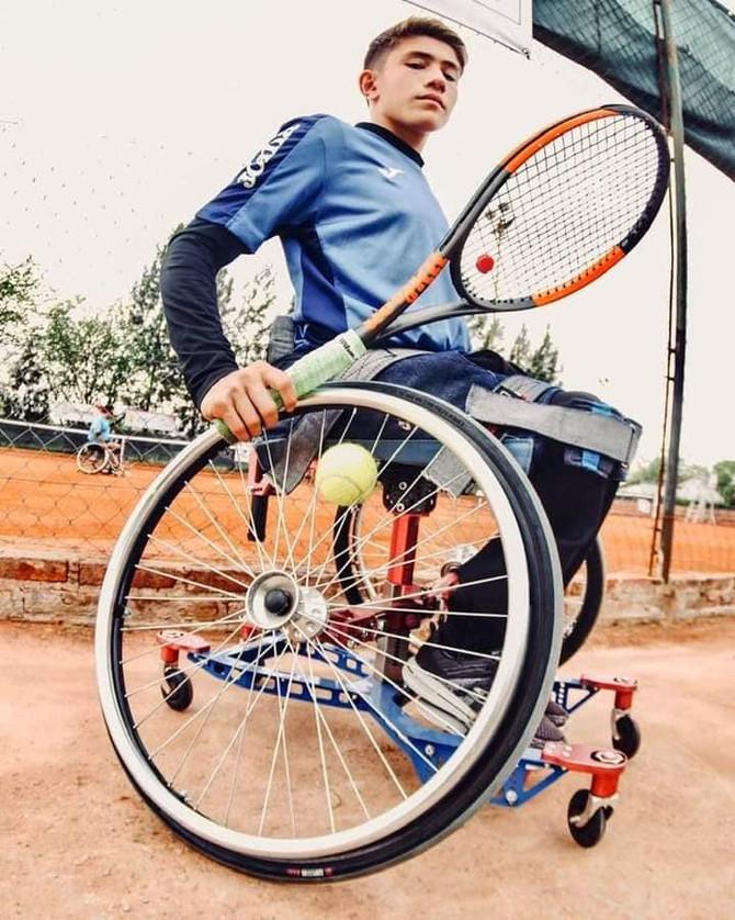 """Se viene la 1º edición de la """"Copa Fundación Paradeportes"""" de tenis adaptado 2021 en Vicente López"""