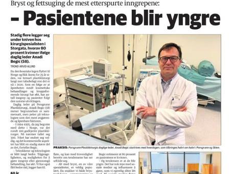 Artikkel i Porsgrunns Dagblad