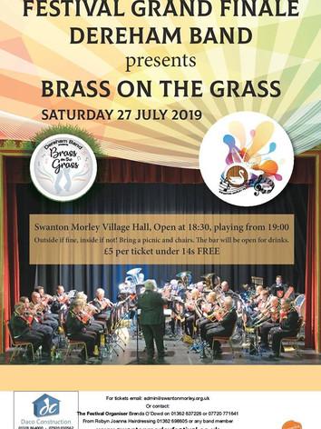 Brass on the Grass July 2019