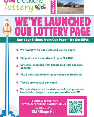 Lottery Launch Poster