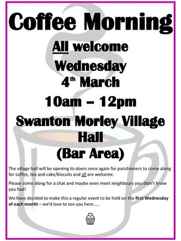 Coffee Morning March 2020