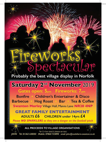 Fireworks Spectacular November 2019