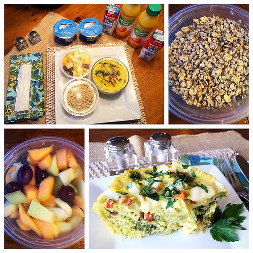 Virginia Breakfast Pack for Two - Vegetarian Option