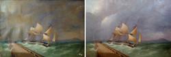 19th c. sea landscape