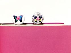 꽃나비 책클립 이미지