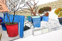 행궁동1_colorpencil and pencil on paper_21.0x29.7cm_2016