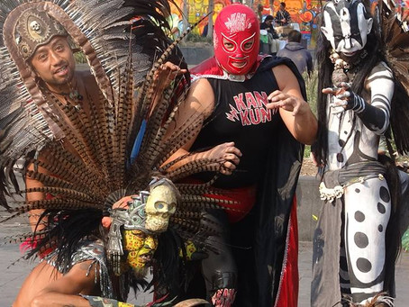 Of Zombies and Lucha Libre Wrestlers