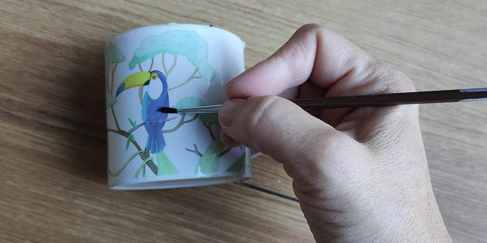 Stage : Peinture sur porcelaine