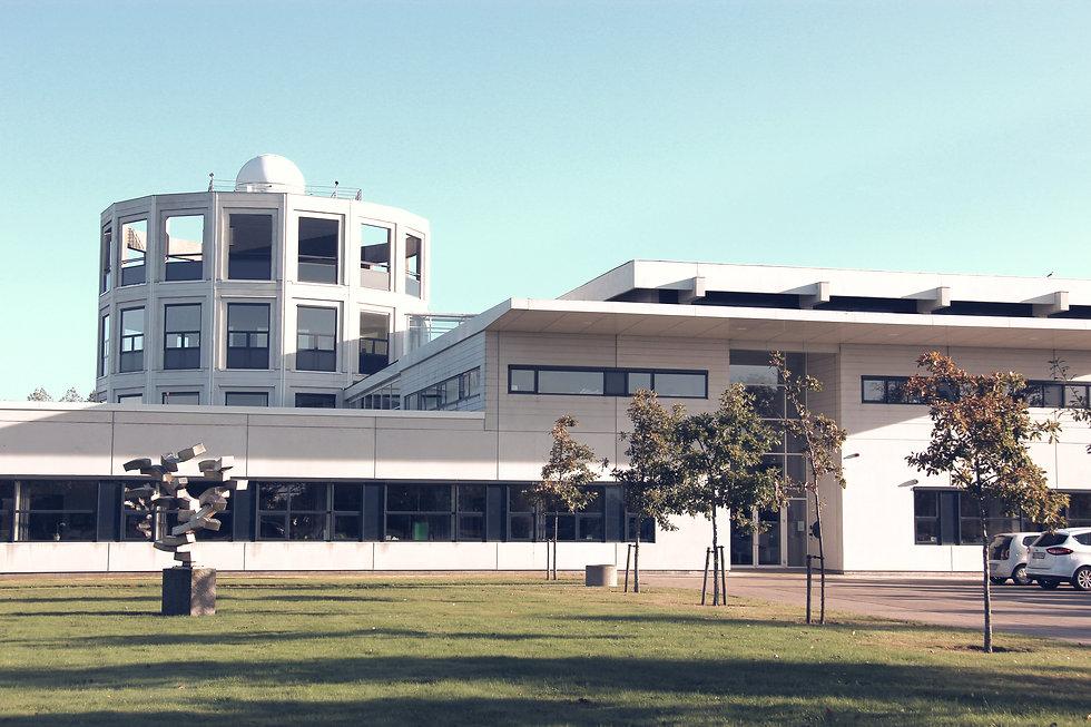 Esbjerg Gymnasium set udefra