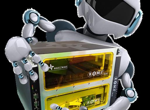 Wave2Wave's ROME Mini Expands Autonomous Network with Robots