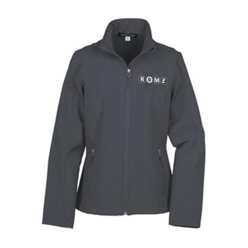ROME Crossland Soft Shell Jacket Gray - Ladies