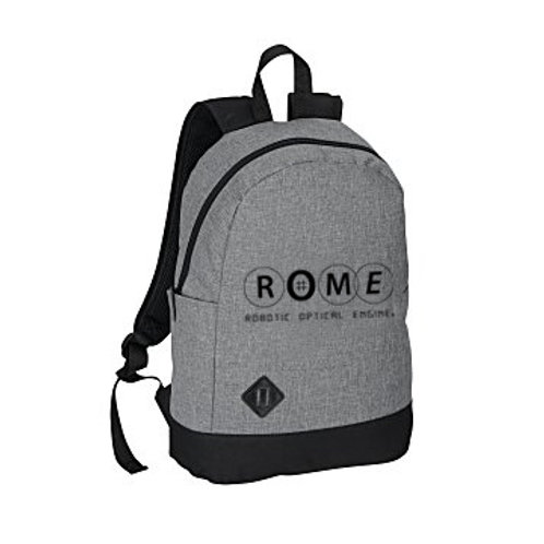 "ROME Graphite Dome 15"" Laptop Backpack"