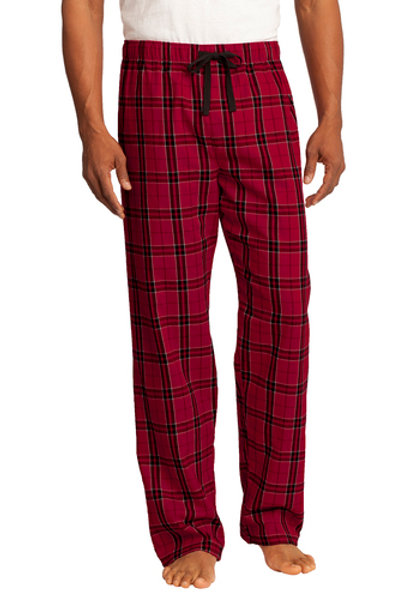 Flannel Pants - Embroidered