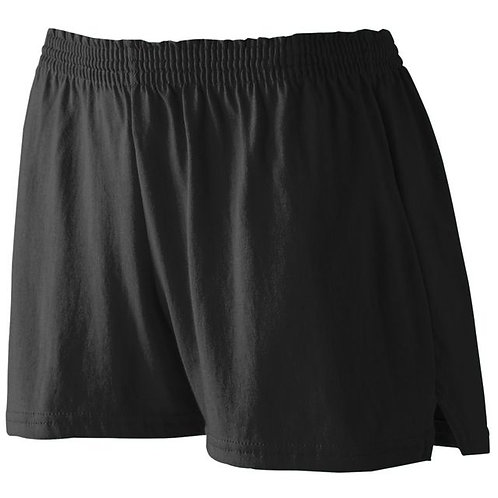 Ladies Cotton Shorts - Embroidered