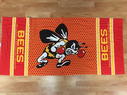 Bees Honeycomb Towel