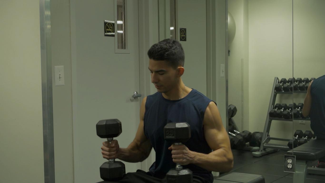 Alex. Gym Scene II-Deadly View (2016)