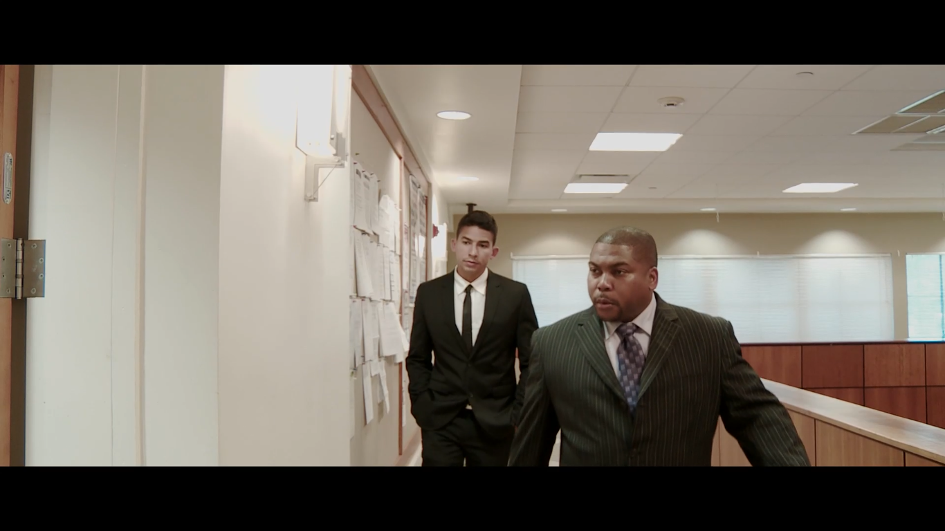 Detective Ray Hernandez. We'll Bring Justice Scene-Not Guilty (2015)