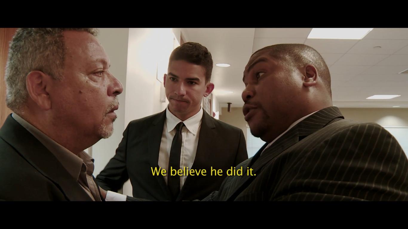 Detective Ray Hernandez. We'll Bring Justice Scene II-Not Guilty (2015)
