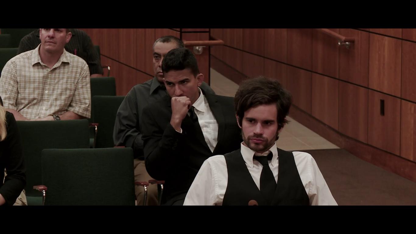 Detective Ray Hernandez. Court Scene -Not Guilty (2014)