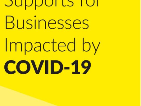Government Supports for Businesses impacted by Covid-19