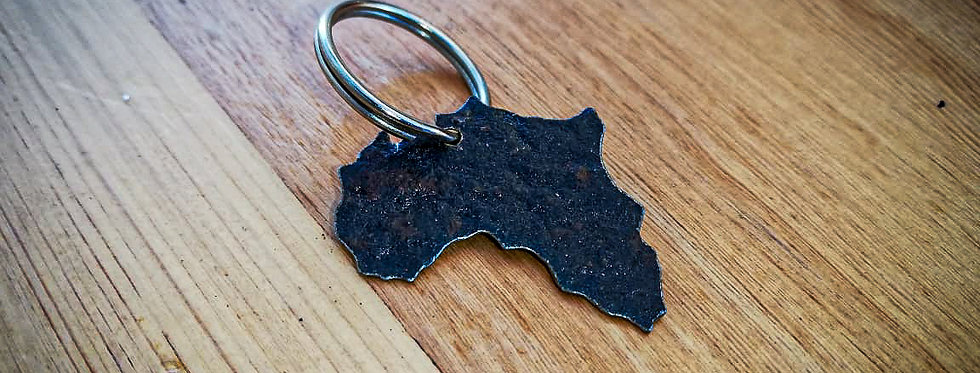 'Africa' - Key Ring