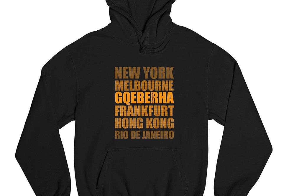 """Hoodie """"Cities"""""""