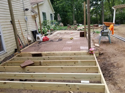 Paver Patio and Deck Install