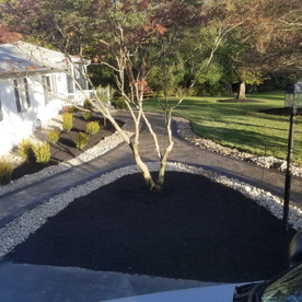 Paver walkway and landscape install