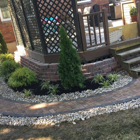 Paver walkway and Retaining wall install