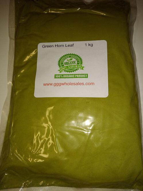 Green horn leaf MD 1 kilo powder