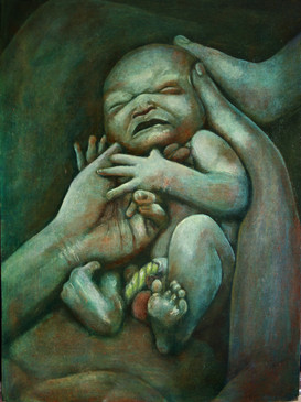 newborn by Clive Hedger