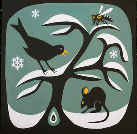 walk in the snow  by Clive Hedger