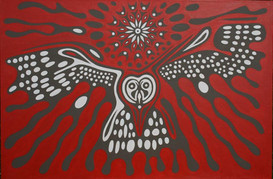 Red Owl by Clive Hedger