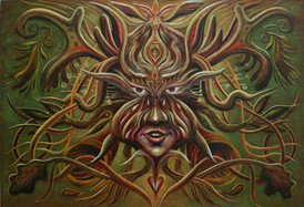 Spirit of the trees by Clive Hedger