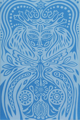 Blue Priestess by Clive Hedger