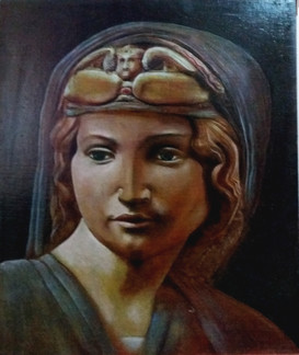 roman goddess by clive hedger